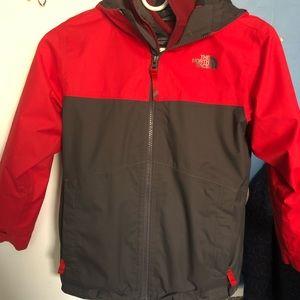 Boys size 7/8 North Face Jacket
